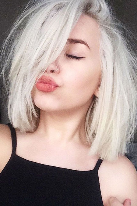Platinum Blonde, Hair Blonde Round Faces