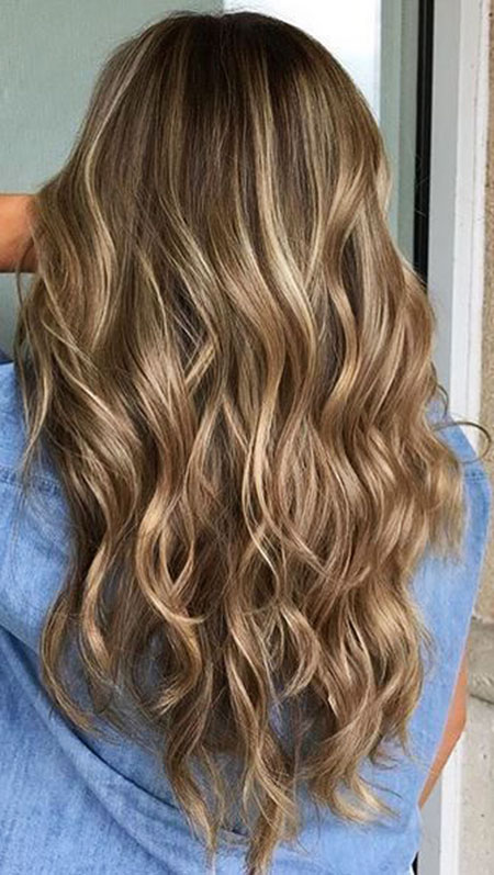 Hair Blonde Highlights Color