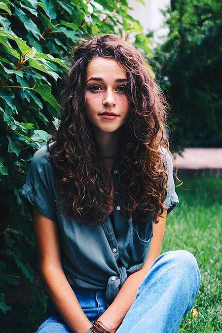 33 Curly Hairstyles For Long Hair Hairstyles Amp Haircuts