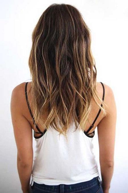 Hair Long Medium Length