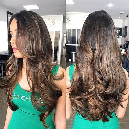 Hair Brunette Long Cute