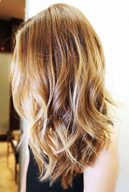 Hair Thin Blonde Layered