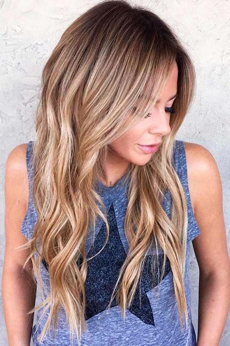 Hair Balayage Long Layers