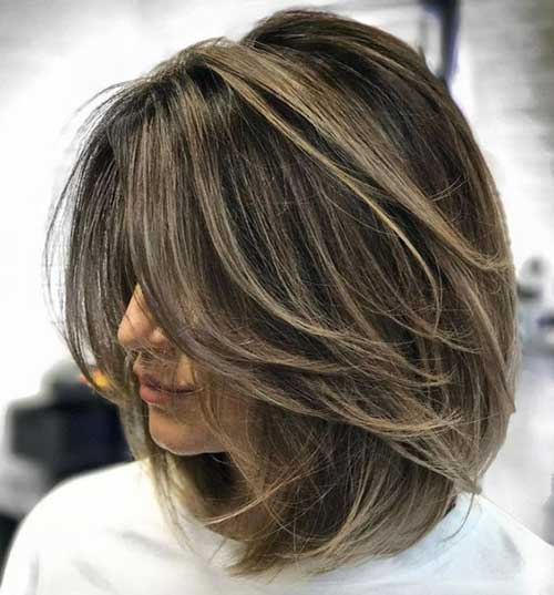 Layered Haircuts for Women-9