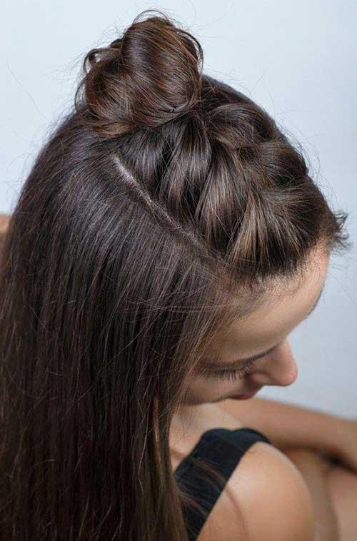 Geflochtene Half Up Frisuren &quot;title =&quot; Geflochtene Half Up Frisuren &quot;/&gt;</a></p><h2>5. Großes halbes geflochtenes Haar 2019</h2><p> <a href=
