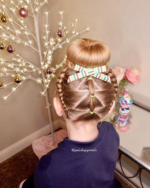 Geflochtenes Haar für Mädchen