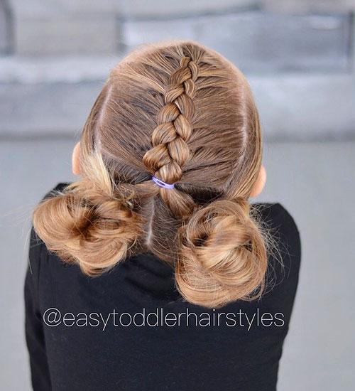 Einfache Zopf-Frisuren für Mädchen