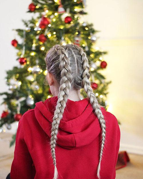 Französische Braid-Styles für kleine Mädchen