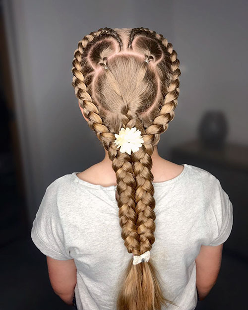25 New Braided Hairstyles For Girls Hairstyles