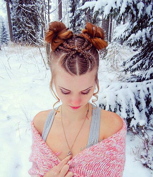 Geflochtene Frisuren für Mädchen