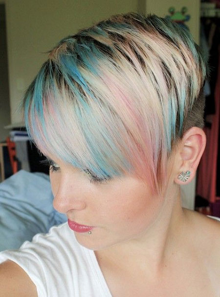 20 Cute Colors for Short Hair_14