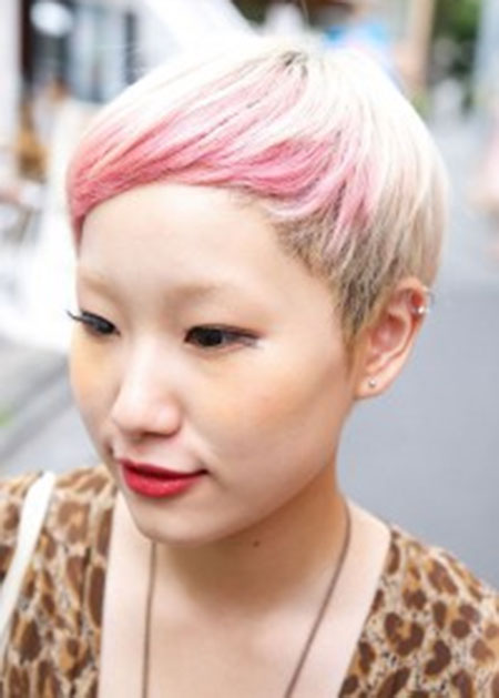 20 Cute Colors for Short Hair_2