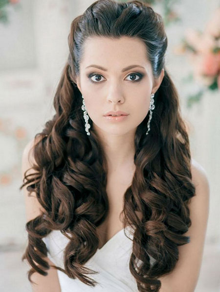 19 Hairstyles for Brides_4