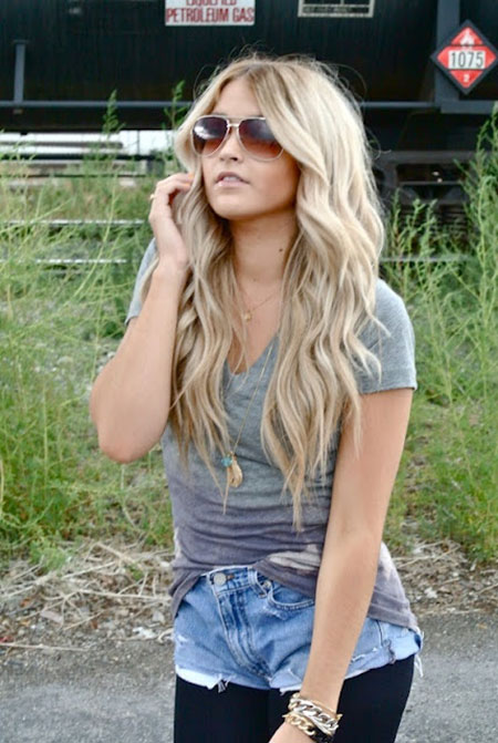 24 Pretty and Lovely Blonde Hairstyles_10