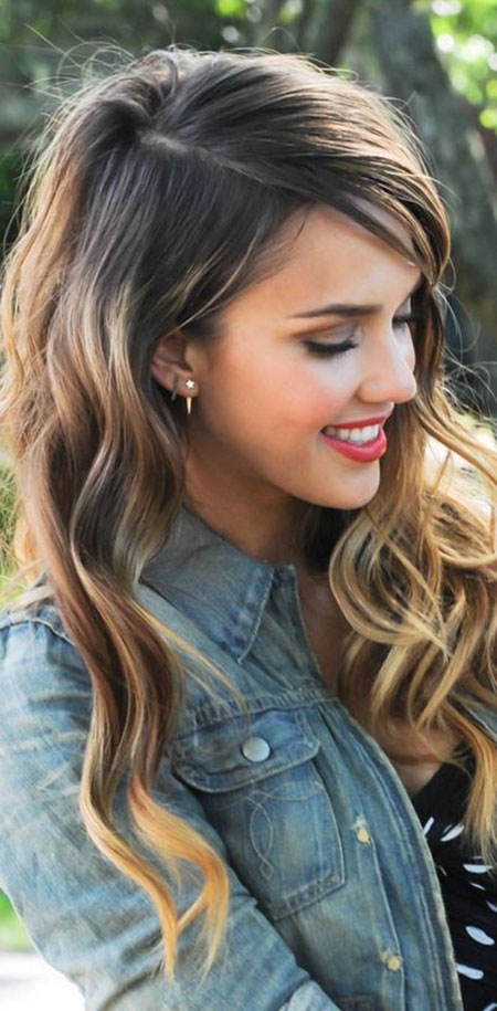 Cute Simple Hairstyles for Long Hair_11