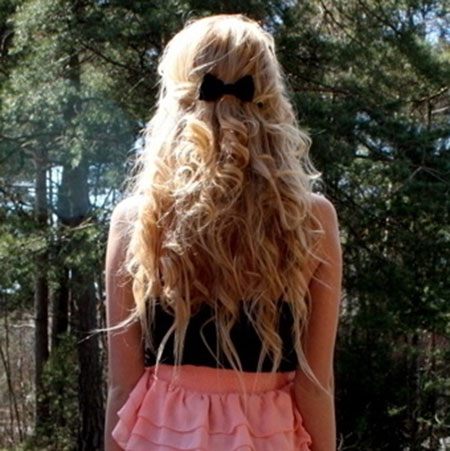 Cute Simple Hairstyles for Long Hair_13