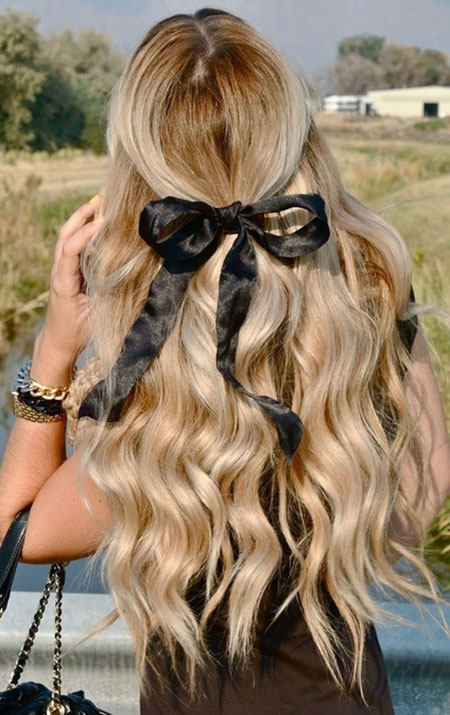 Cute Simple Hairstyles for Long Hair_2