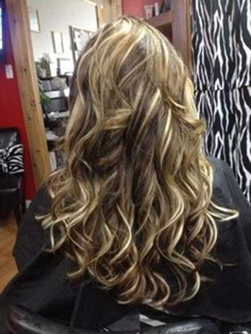 Beautifully Curled Hair for Women