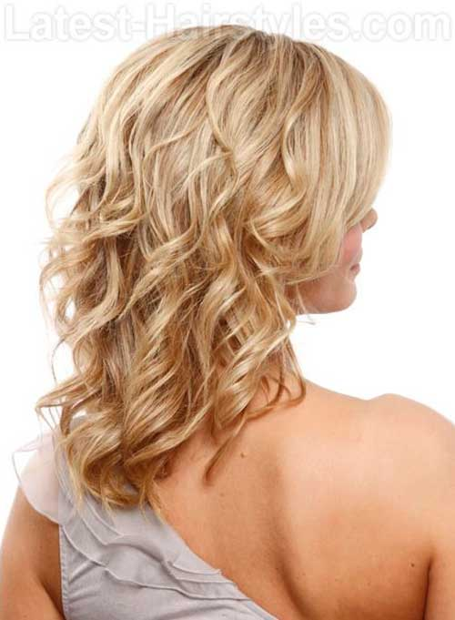 Simply Curled Hairstyle for Women