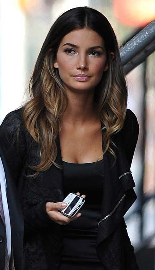 Dark Ombre Hairstyle