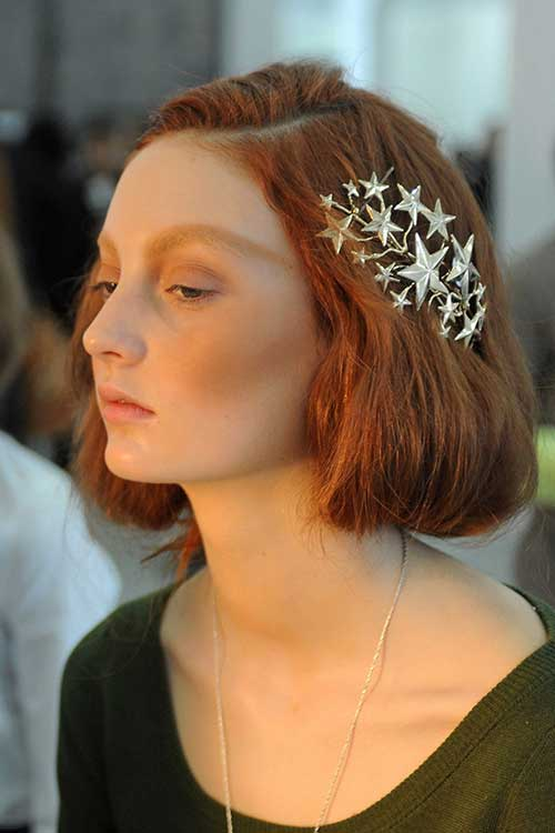 Ginger Hair with Accessories