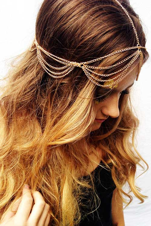 Hairstyle with Chains