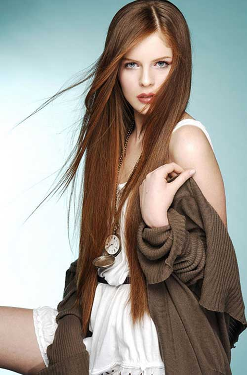 hair styles for girls long hair 30 hairstyles for hair hairstyles and haircuts 9304 | Long Brown Hair For Women