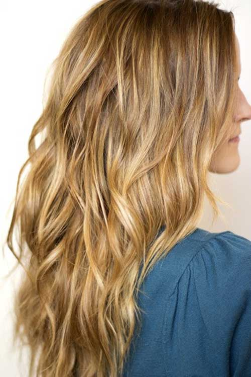 The Boho Wave Long Hairstyle