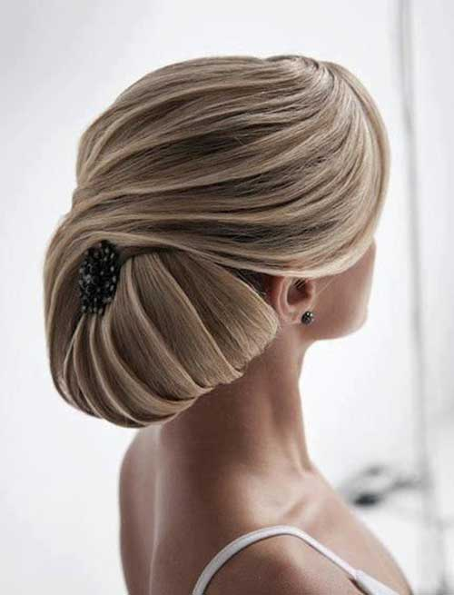 Magnificent Updo Hair Styles with Accessories