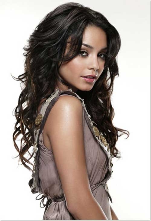 Vanessa Hudgens Hairstyle for Long