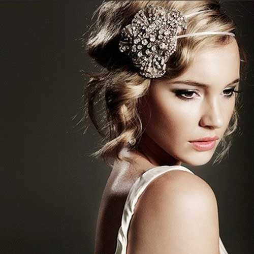 Vintage Blonde Bridal Hair Accessories