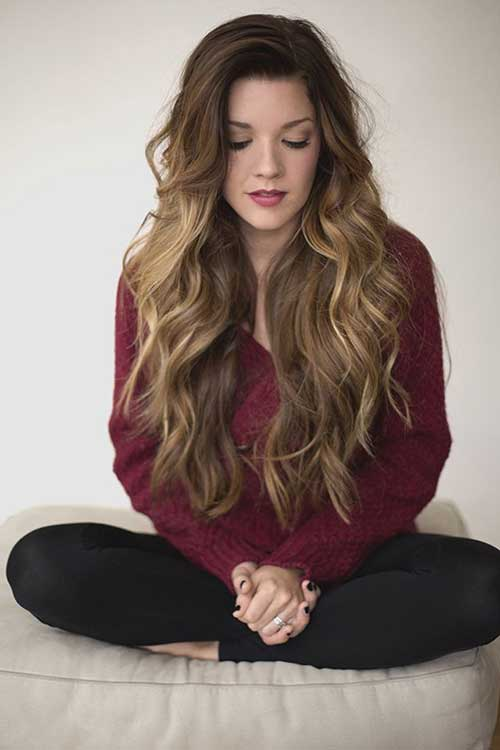25 Wavy Hairstyles for Long Hair