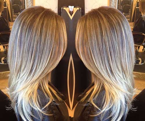 Blondie for Layered Haircuts