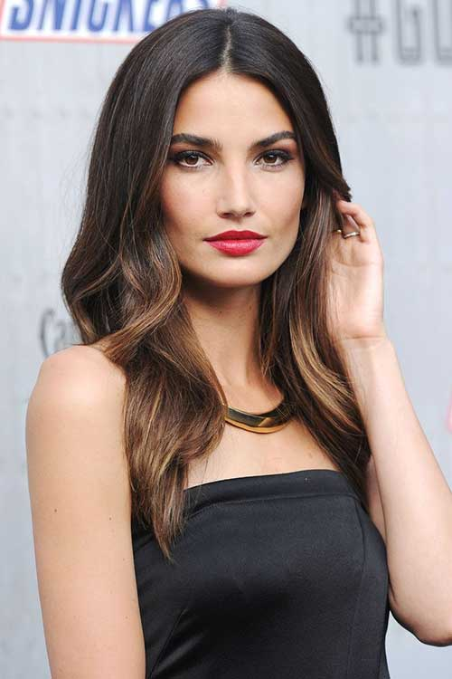 Balayage Dark Hairstyles