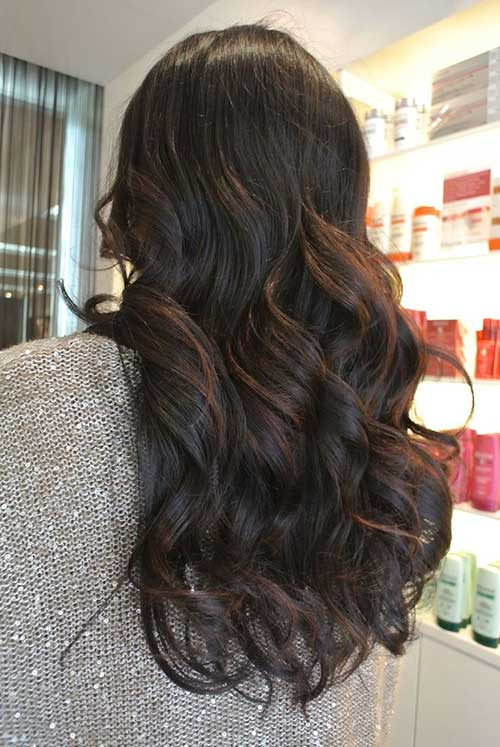 Balayage Hair for Dark Hairstyles