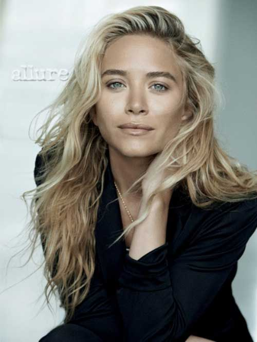Mary Kate Olsen Blonde Celebrities Hairstyles