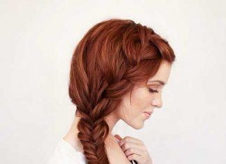 Bohemian Side Braid Style