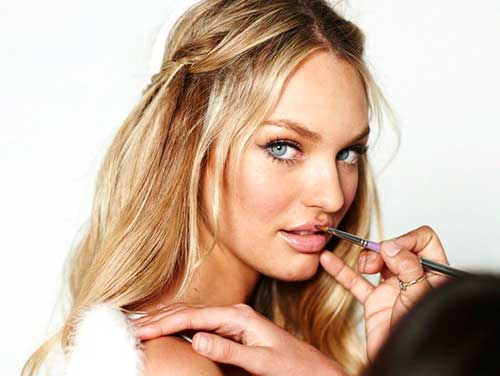 Candice Swanepoel Haircuts