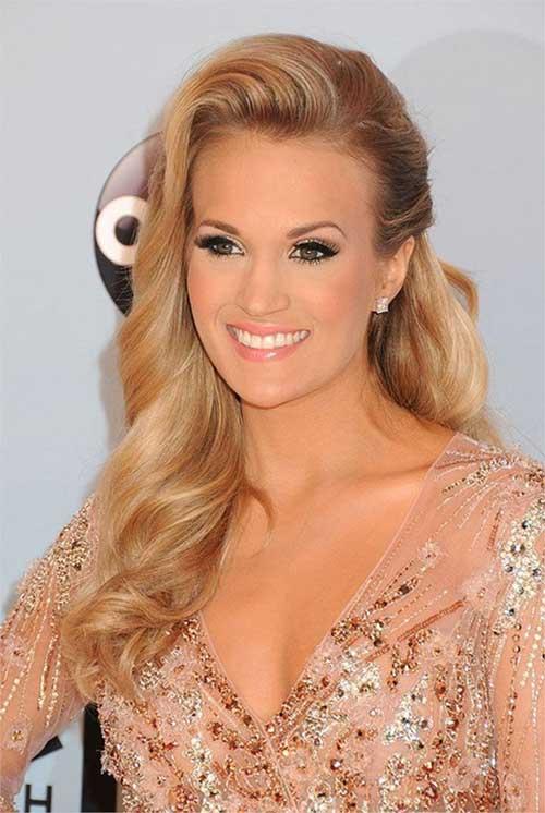 Carrie Underwood Blonde Hairstyle