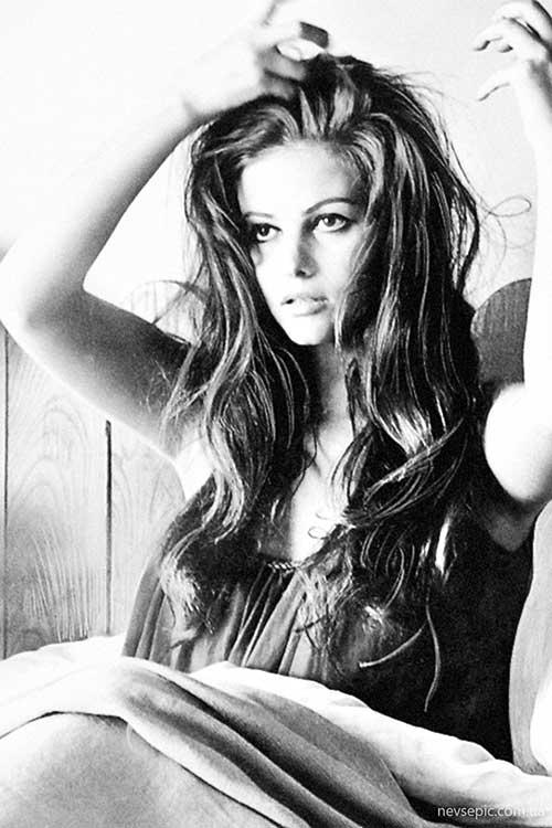 Claudia Cardinale Long Layered Haircuts