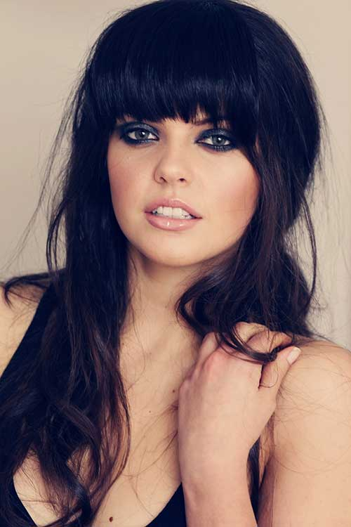 fringe styles for thick hair 25 hairstyles with bangs hairstyles amp haircuts 2016 7608