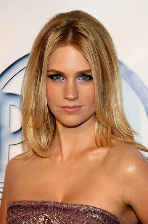 January Jones Medium Haircut