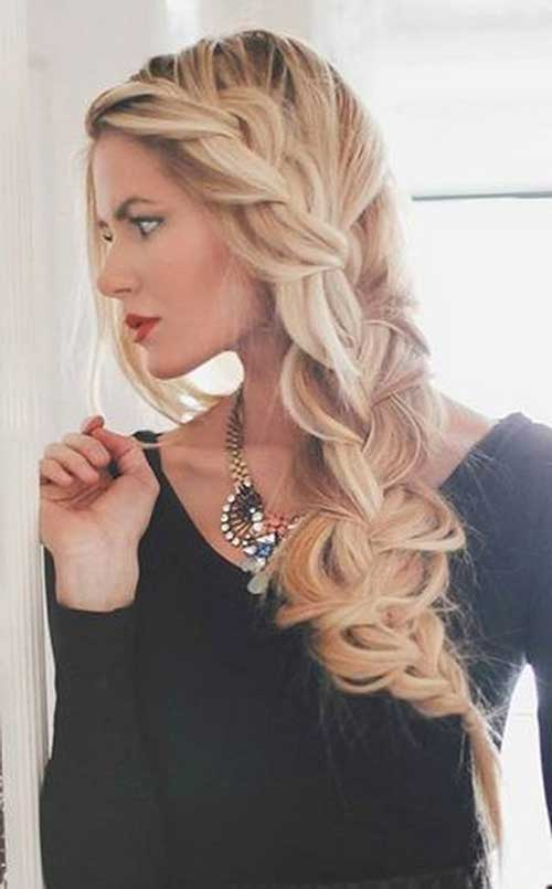Loose Braid Hairstyles