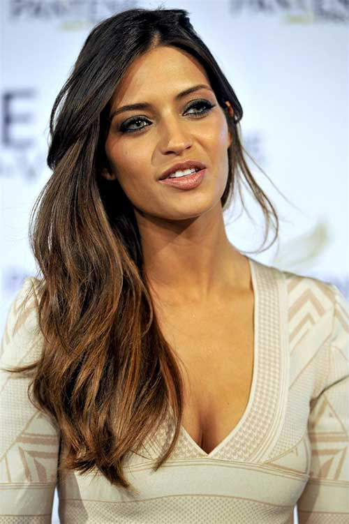 Chestnut Brown Ombre Hairstyles