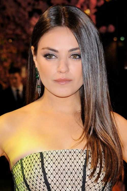 Mila Kunis Hair Color and Haircut