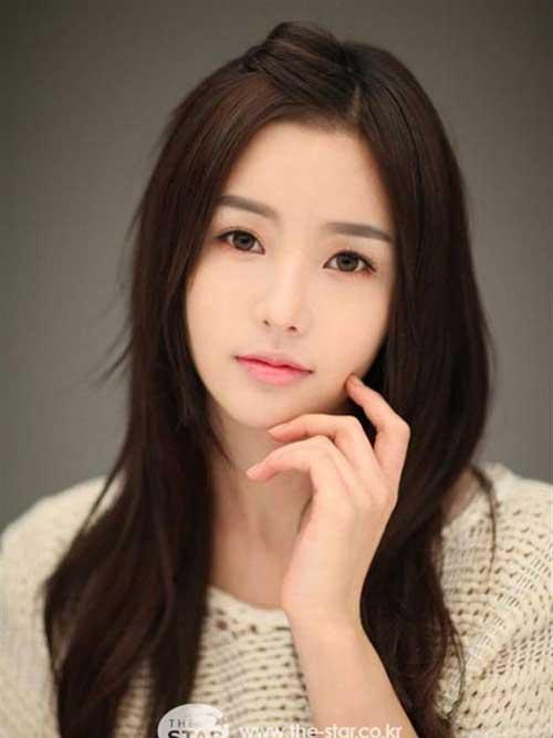 Nam Gyu-Ri Layered Hairstyle