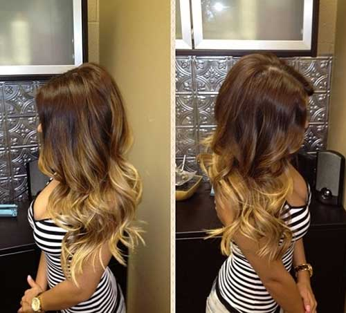 Ombre Dyed Hairstyles
