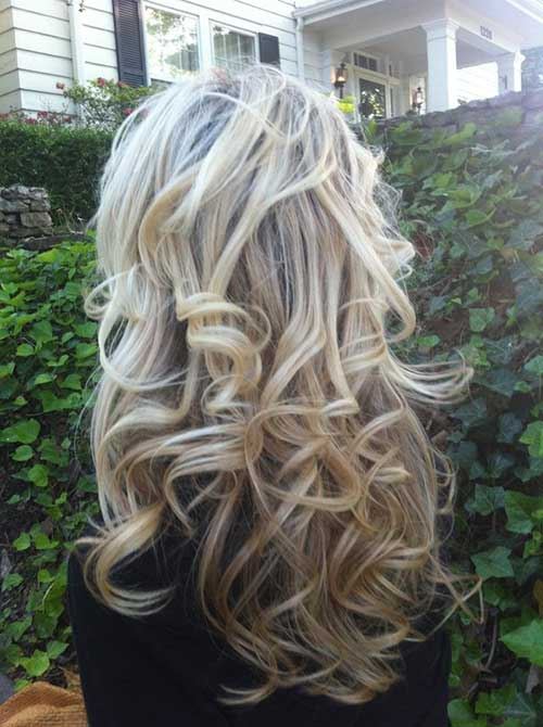 Soft Long Curly Hairstyles