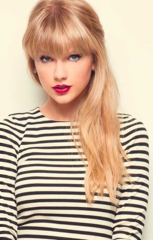 Taylor Swift Blonde Hairstyles