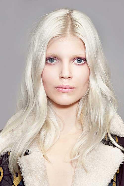 White Blonde Hairstyles